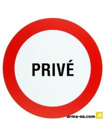 PICTOGRAMME 'PRIVE' ╪18CM  PictogrammesPICK UP