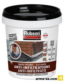 RUBSON ANTI-INFILTRATIONS NOIR 1KG 1384556  ÉtanchéitéRUBSON