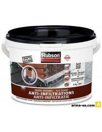 RUBSON ANTI-INFILTRATIONS NOIR 5KG 1800224  ÉtanchéitéRUBSON