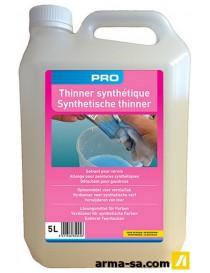 THINNER SYNTHETIQUE 5L BIDON FLUORE  Produits chimiquesLAMBERT CHEMICALS