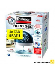 ABSORBEUR D'HUMIDITE AERO 360° 450G  Absorbeurs d'humiditéRUBSON