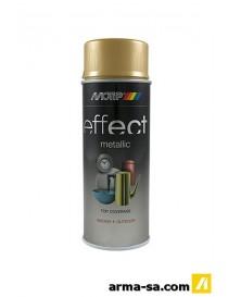 SPRAY EFFECT METALLIC VRAIE OR 400ML  Peinture en sprayDUPLI-COLOR