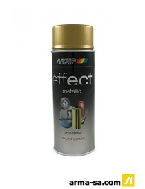 SPRAY EFFECT METALLIC OR BRILLANT 400ML  Peinture en sprayDUPLI-COLOR