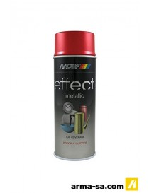 SPRAY EFFECT METALLIC METALLIC ROUGE 400ML  Peinture en sprayDUPLI-COLOR