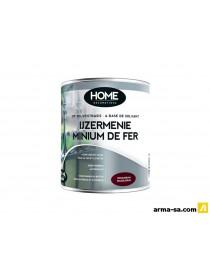 MINIUM DE FER ROUGE-BRUN INTERIEUR-EXTERIEUR 2,5L  Peintures pour métauxHOME DECORATIONS