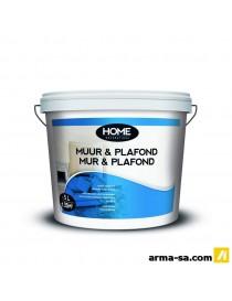 MUR & PLAFOND BLANC CASSE 5L  Peintures murs et plafondsHOME DECORATIONS