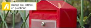 Boîtes aux lettres plastique