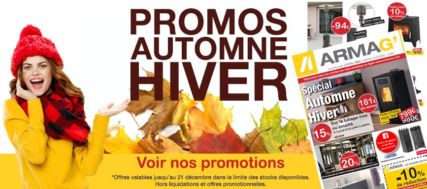 Promotions Armag' spéciales automne hiver