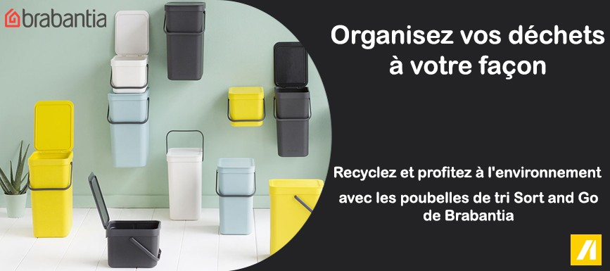 Poubelles Sort and Go de Brabantia