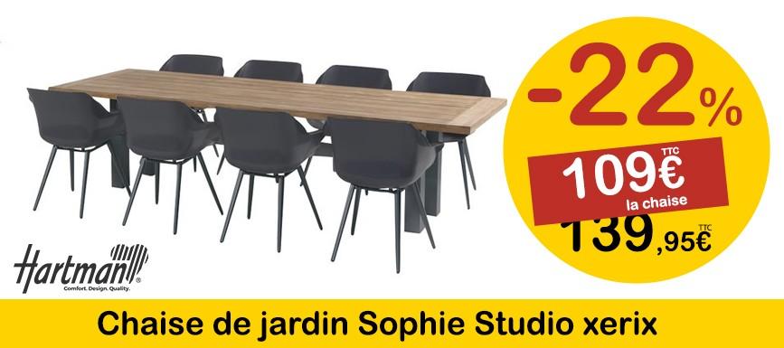 Chaise Sophie Studio de la marque HARTMAN en promotion